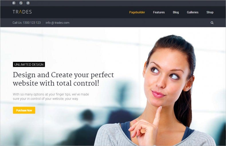 trades multi purpose business wordpress theme 788x509