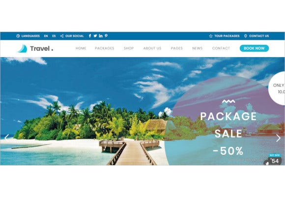 travel-agency-wordpress-theme