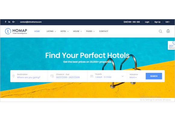 travel-booking-wordpress-theme
