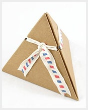 Triangle-Paper-Box