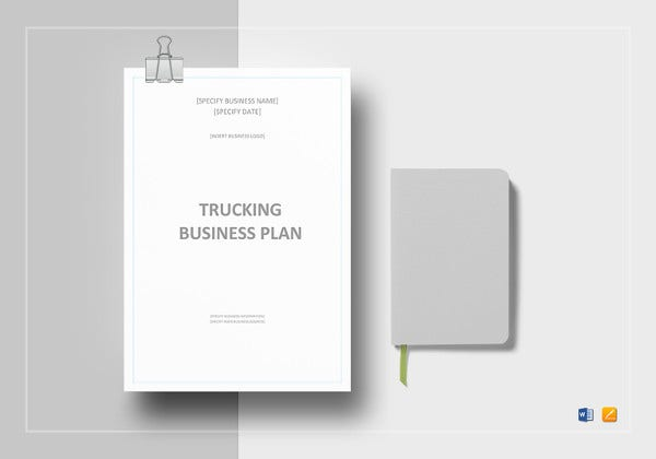 trucking-business-plan-template