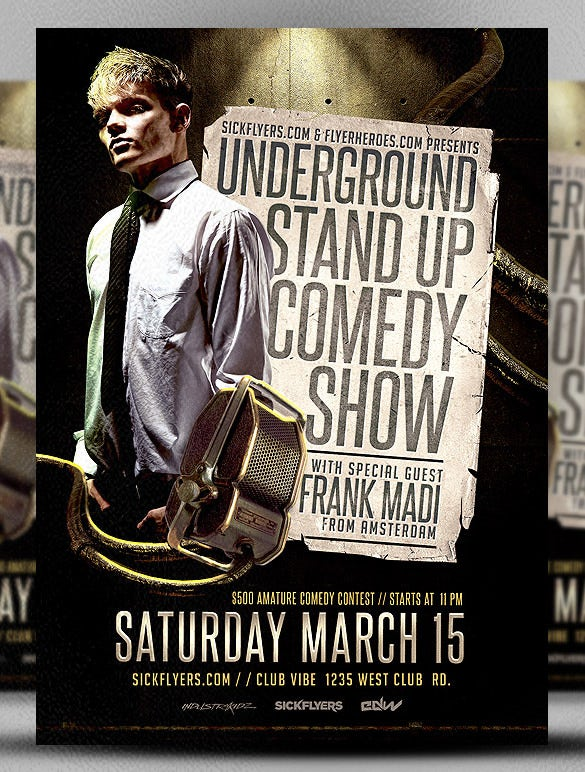 underground stand up comedy show