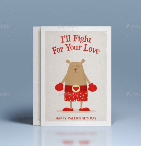 valentine's day greeting holiday card