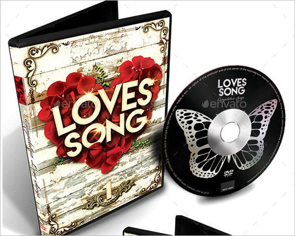 valentines dvd cover template download