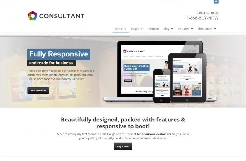 wp consultant responsive multipurpose theme 788x516