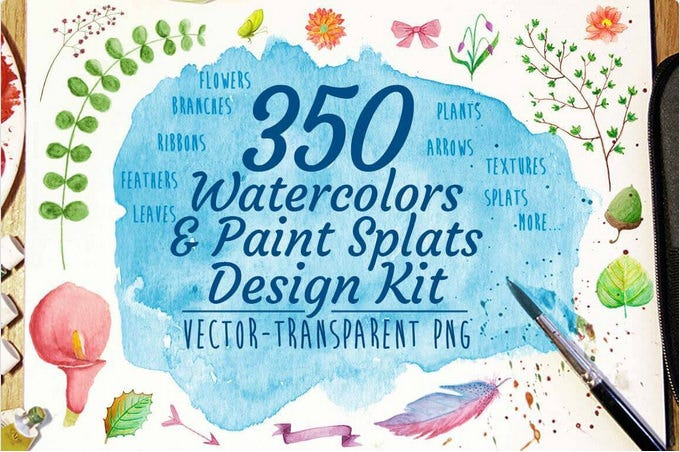 water colour paint designs