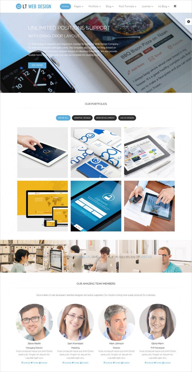 web graphic design joomla template 788x1524