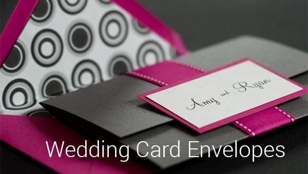 wedding card envelopes