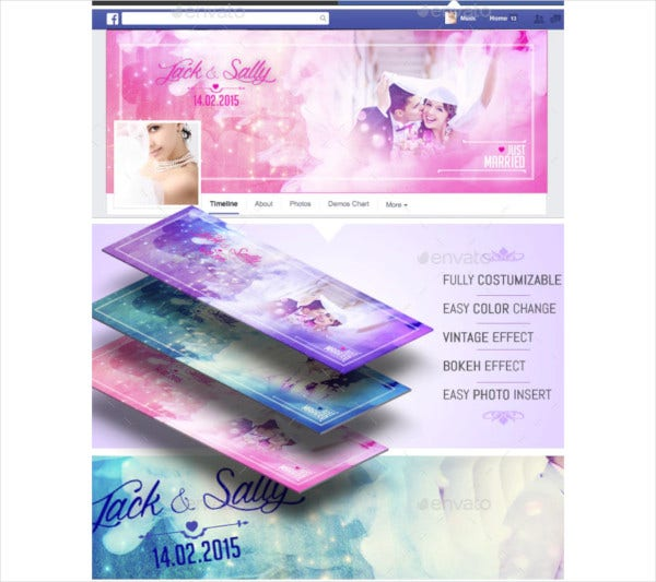 wedding facebook timeline cover template2