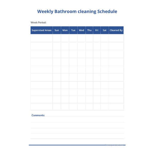 weekly-bathroom-cleaning-schedule-template
