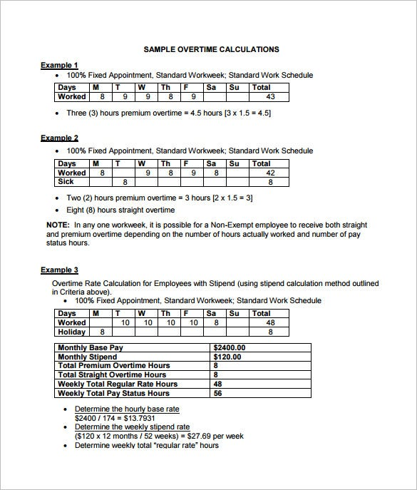 7 weekly paycheck calculator doc excel pdf free premium