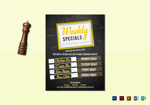 weekly-special-flyer-template