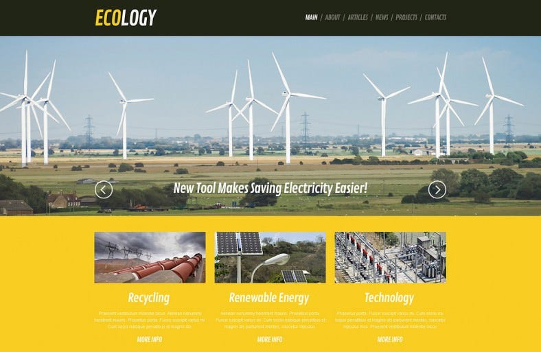 wind energy responsive wordpress theme 788x513