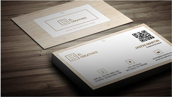 woodenbusinesscards