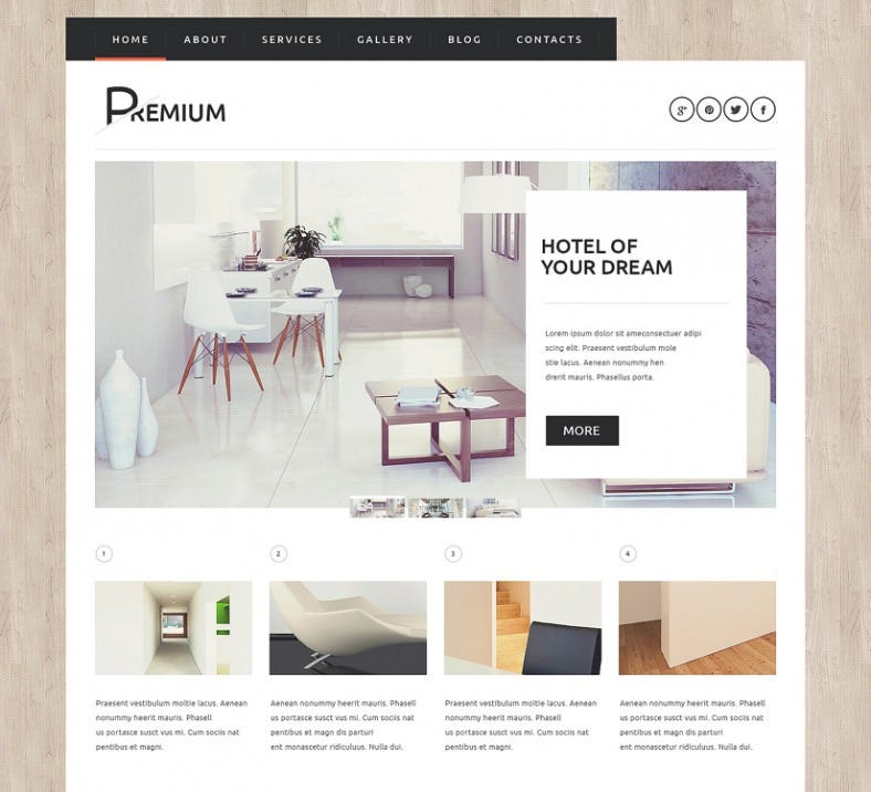 WordPress Theme for Hotels Booking Agency