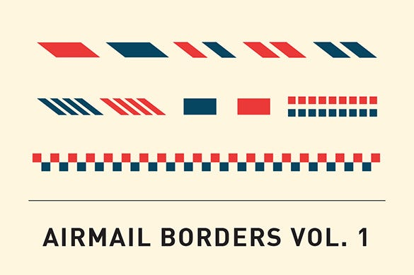 wordpress airmail border template 5