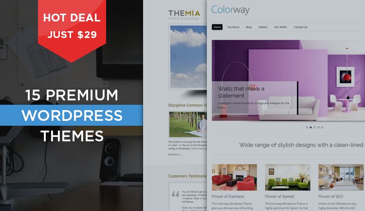 15 Premium Themes of WordPress