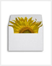 Yellow-Sunflower-Wedding-Card-A2-Envelope