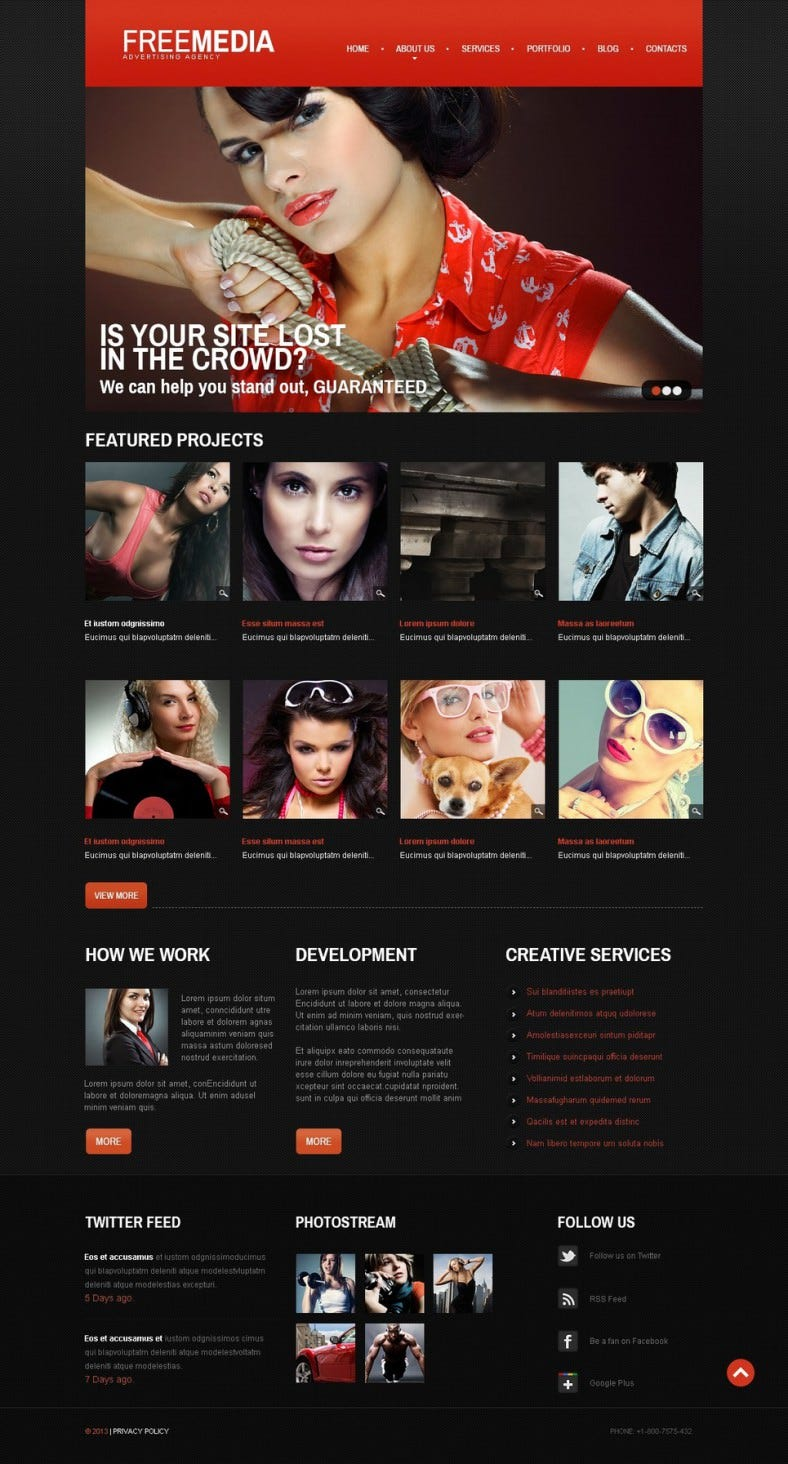 ad company joomla templates 788x1464