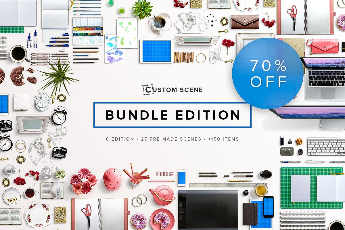 creativemarket Mockup Bundle