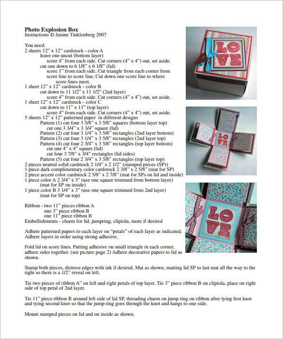 exploding box template  u2013 20  free psd  pdf format download