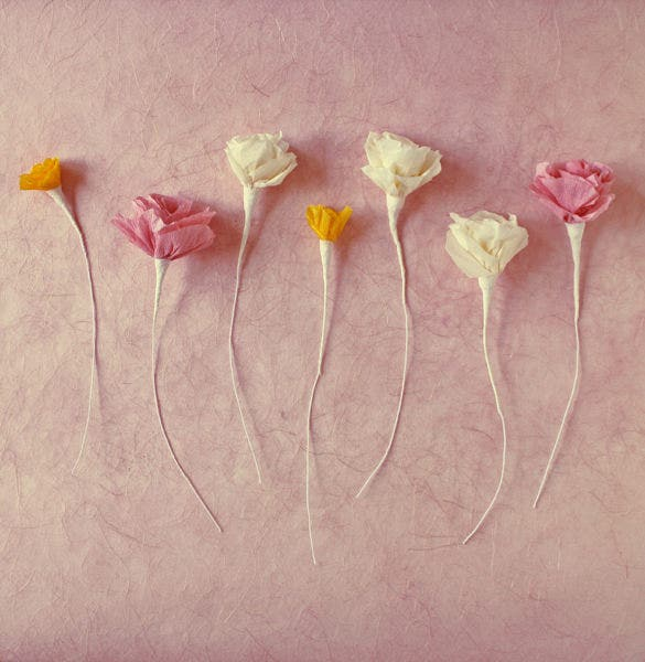 paper flower templates for kids