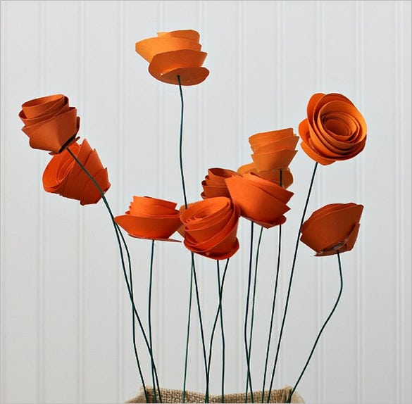 paper flower templates martha stewart