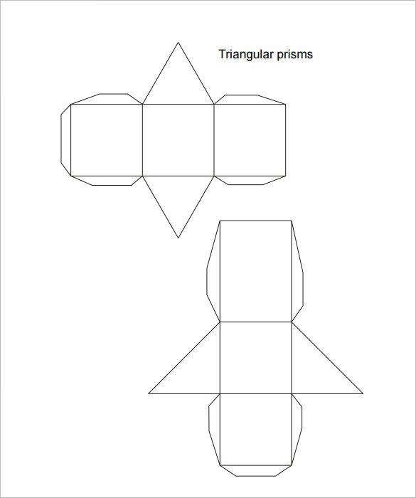 template triangle box