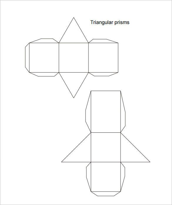9 triangle box templates doc pdf free premium templates triangle box prism maxwellsz