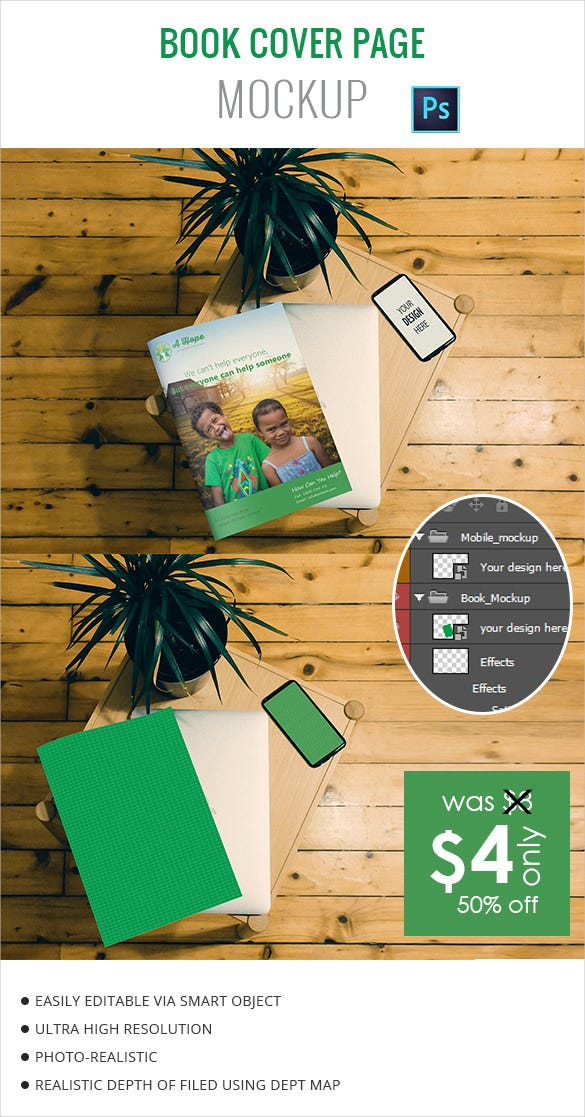 Book Cover Templates  Free Sample Example Format Download