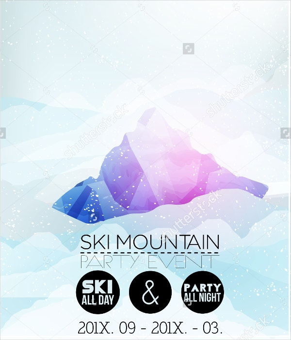Ski Resort Brochure