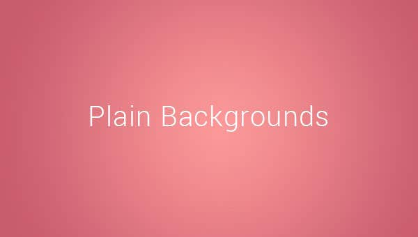 plain backgroundss