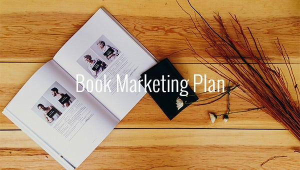 book marketing plan