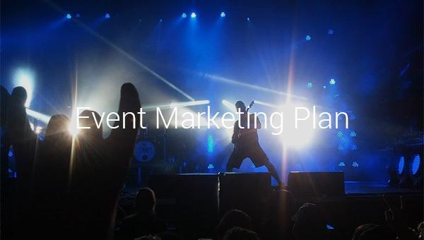 event marketing plan.