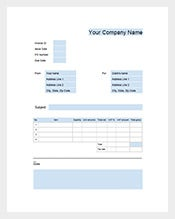 Google-Business-Invoice-Template