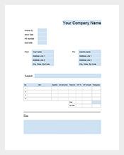 Google-Business-Invoice-Template