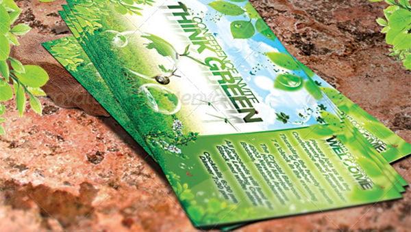 green flyer templates