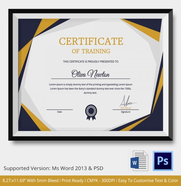 Modern Multipurpose Certificate Template
