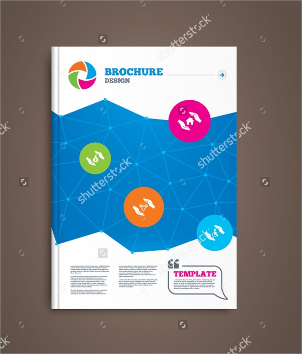 house property brochure template