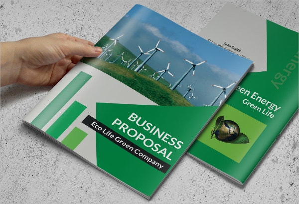 Green Business Brochure Template