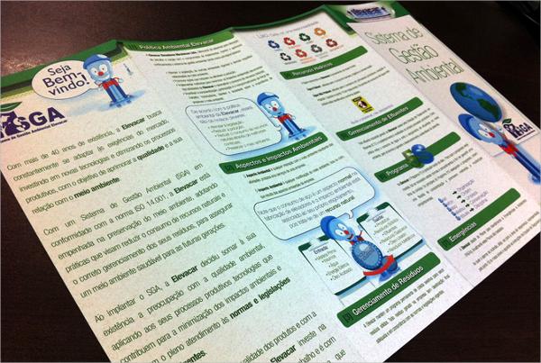 Simple Environmental Brochure Template