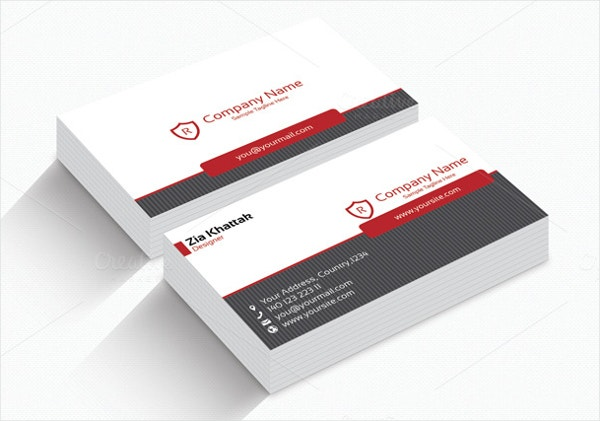 Simple Magnetic Business Card