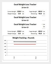 Excel-Weight-Loss-Tracker