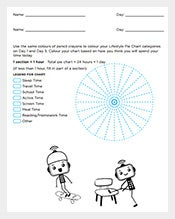 Life-Style-Pie-Chart-Free-PDF-Template