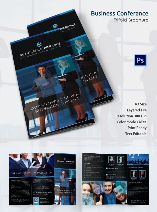 Print Ready Business Conference Brochure