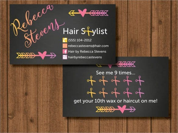 30 hair stylist business cards free download free premium templates hair stylist custom business card example colourmoves