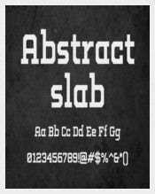 Abstract Slab