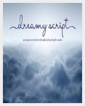 Dreamy Script Font