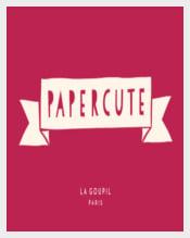 PaperCute Serif Font