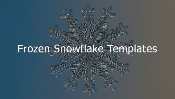 frozensnowflaketemplates